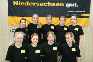 Aligser U16 Volleyballerinnen erreichen Platz 4 in Niedersachsen