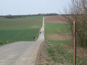 Kinzig-Schule Radtour 2/2011 - Fahrradtour auf der 'Hohen Strae' vor Frankfurt