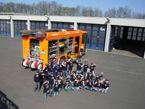 Kinderfeuerwehr Hannover-Davenstedt besucht die Berufsfeuerwehr