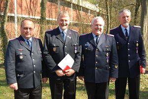 Delegiertenversammlung des Feuerwehrverbandes Region Hannover e.V. am 2. April 2011 in Sehnde