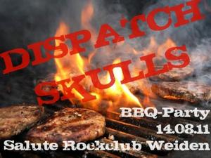 BBQ-Party mit den DISPATCH SKULLS