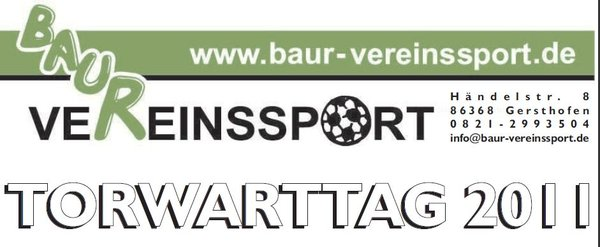 Torwarttag mit Baur Vereinssport beim SV Thierhaupten