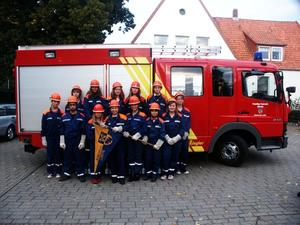 Osterfeuer in Lenthe