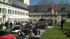 Saisonstart fr Oldtimer: Wittelsbacher Oldtimerschau mit Khbacher Klassikfahrt