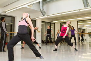 MODERN DANCE WORKSHOP IM STUDIO BEATRIX KLEIN