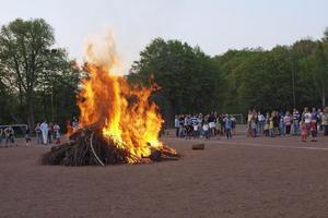 Osterfeuer in Kirchrode