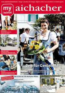 Jetzt neu: Das myheimat-Stadtmagazin aichacher 05/2011