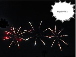 Schwedischer Feuerwerk - Wettbewerb