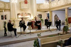 Israel Brass Quintet am 25. Mai 2011 20:00 h in der Martin-Luther-Kirche Ehlershausen