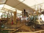 23.05.: Aufbau des Dioramas