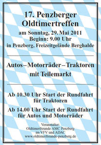 Oldtimertreffen in Penzberg ..........