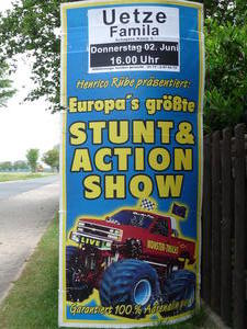 Stunt & Action in Uetze am 2. Juni