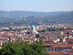 Florenz mit der groen Synagoge