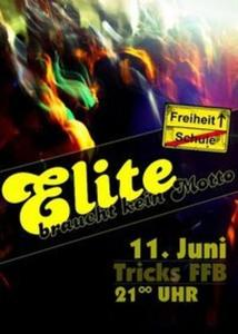 Tricks: ELITE BRAUCHT KEIN MOTTO