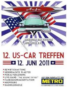 US-Car Treffen in Augsburg