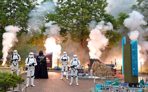 Erffnung des neuen STAR WARS Universums im LEGOLAND Deutschland