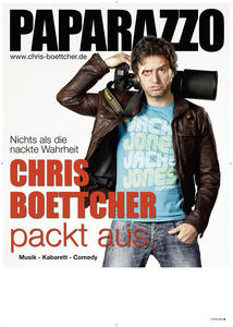 Chris Boettcher (Bayern3 Comedy) Programm: Paparazzo