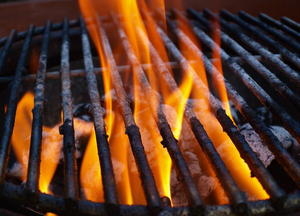 Facebook-Grillpartys am Düsseldorfer Rheinufer verboten! (Foto: Thorsten Freyer / pixelio.de)