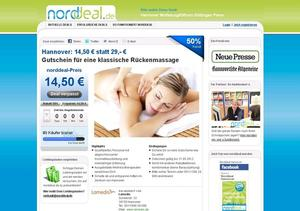 Hannover zum halben Preis bei norddeal.de