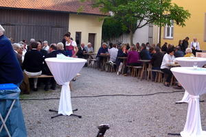 kulinarischer Sommerabend der CSU Friedberg im Archivhof
