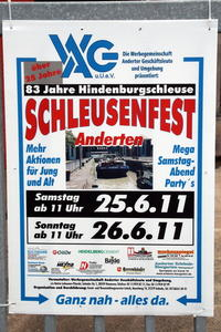Schleusenfest 2011 in Anderten