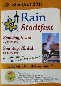 32. Stadtfest 2011 (Rain am Lech)