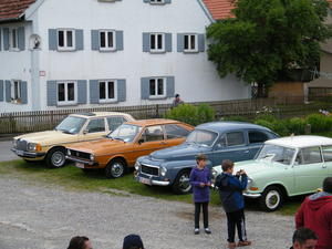 Oldtimertreffen auf dem Museumsgelde in Ziemetshausen