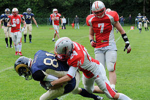 Football: Fursty Razorbacks - Nürnberg Rams 14:35