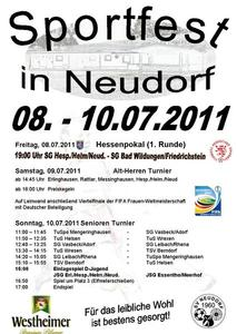 Sportfest in Neudorf