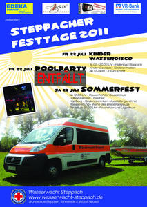 Steppacher Festtage am 22. und 23. Juli 2011