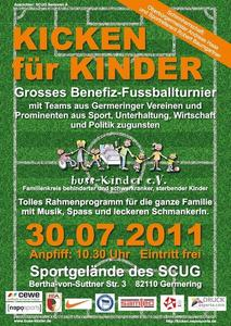 KICKEN fr KINDER - groes Benefiz-Fuballturnier zugunsten des buss-Kinder e.V.