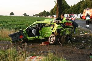 Pressemitteilung Nr. 22/2011 - Tdlicher Unfall auf der B 3 Pattensen - Thiedenwiese