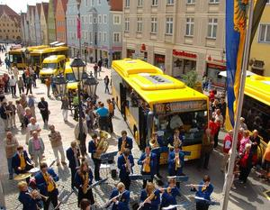 Start frei fr den neuen Stadtbus Donauwrth