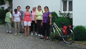 Fahrradtour der KLB-Frauengruppe nach Klimmach
