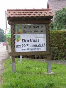 Margertshauser Dorffest 2011