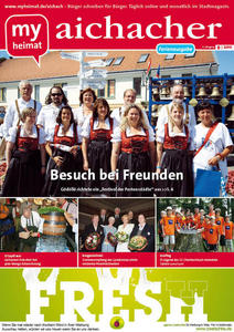 Jetzt neu: Das myheimat-Stadtmagazin aichacher 08/2011