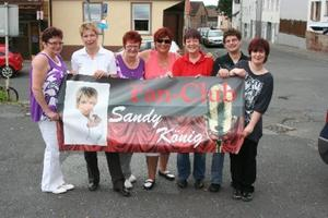 Sandy Knig Fanclub sorgte fr Stimmung