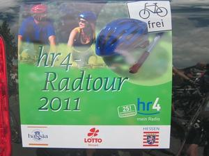 hr4-Radtour 2011 - Wir waren wieder dabei!