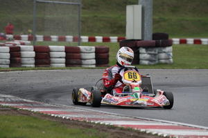 OLIVER BRAUN vom MAC Knigsbrunn im ADAC e.V. bei den ADAC KART MASTERS in Wackersdorf