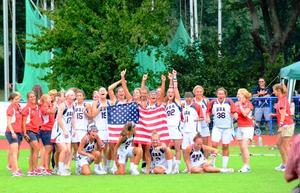 USA - U19 Damen Lacrosse Weltmeister 2011