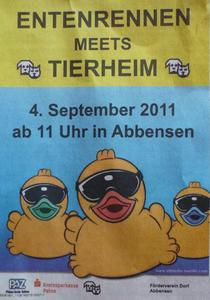 Entenrennen in Edemissen-Abbensen am 04.September 2011