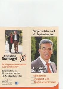 CHRISTIAN SOMOGYI: Ihr Brgermeisterkandidat aus Stadtallendorf zur Stichwahl am 2.10.2011 bereit
