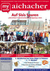 Jetzt neu: Das myheimat-Stadtmagazin aichacher 09/2011