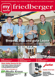 Jetzt neu: Das myheimat-Stadtmagazin friedberger 09/2011