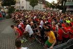 Start der 10-Kilometer-Lufer.