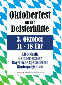 Oktoberfest 2011 an der Deisterhtte... die NaturFreunde Springe laden ein!