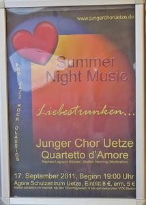 Summer Night Music in Uetze