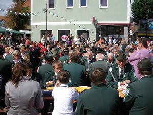 Egestorfer Schtzen von 04 auch auf dem Stadtfest Barsinghausen vertreten