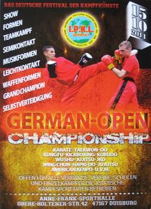 GERMAN OPEN CHAMPIONSHIP (Duisburg)