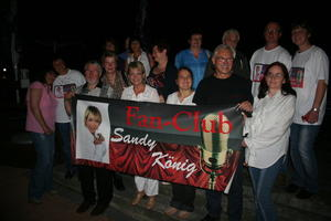 1. Sandy Knig Fan-Club-Treffen war ein unvergessener Abend..